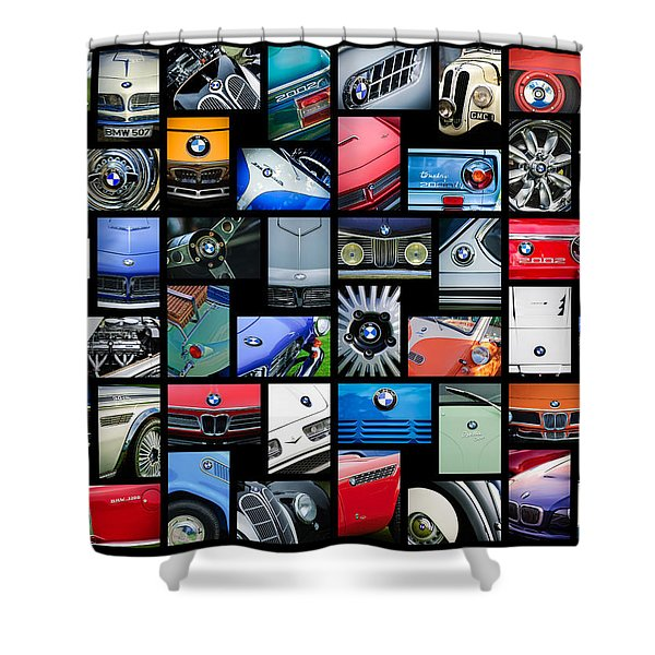 Bmw Art -01 Shower Curtain