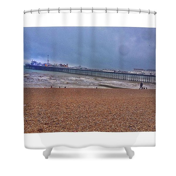 • Brighton Pier Shower Curtain