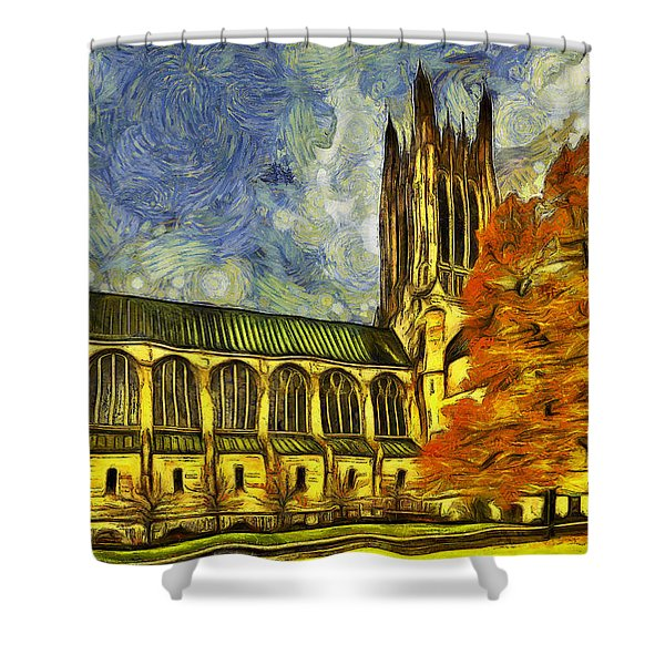 Cathedral Of St. John The Evangelist Shower Curtain