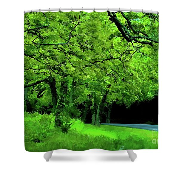 Faire Du Velo Shower Curtain