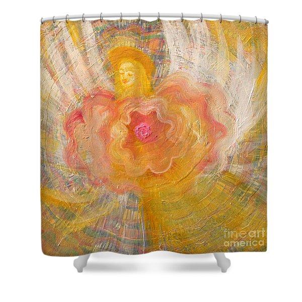 Flower Angel Shower Curtain