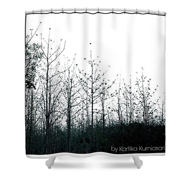 - Forest Simplicity-  Shower Curtain