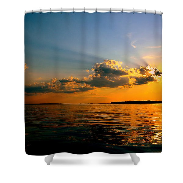 Perfect Ending To A Perfect Day Shower Curtain