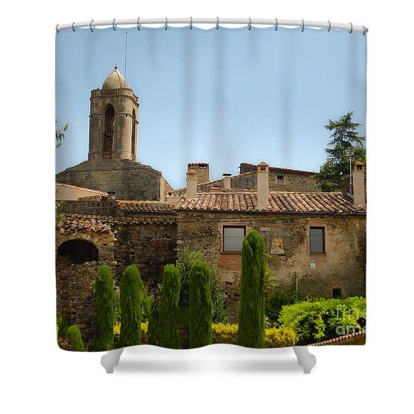 Pubol Spain Shower Curtain