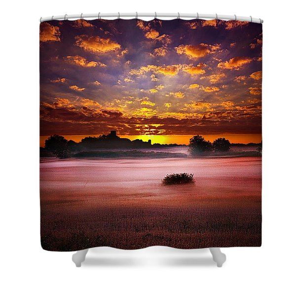 Quiescent  Shower Curtain