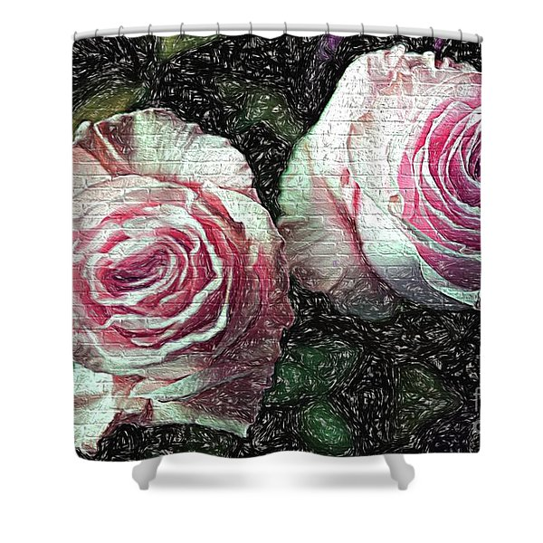 Romantisme Poetique Shower Curtain