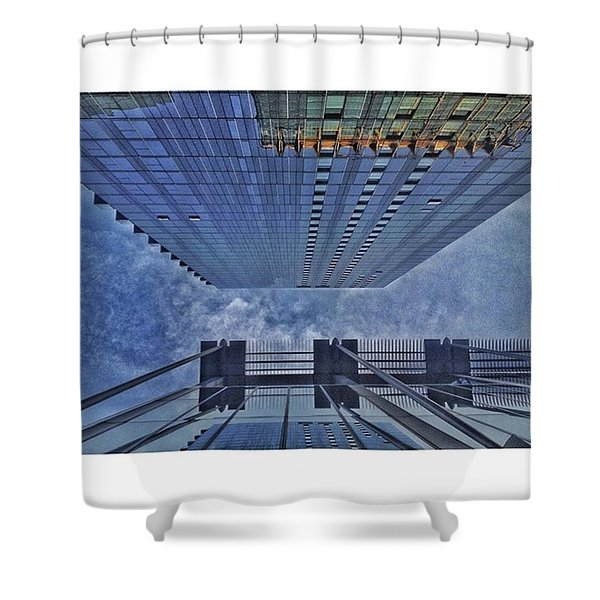 • Straight Up Shower Curtain
