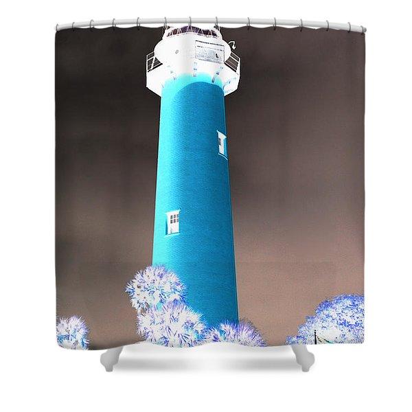The Lighthouse Shower Curtain