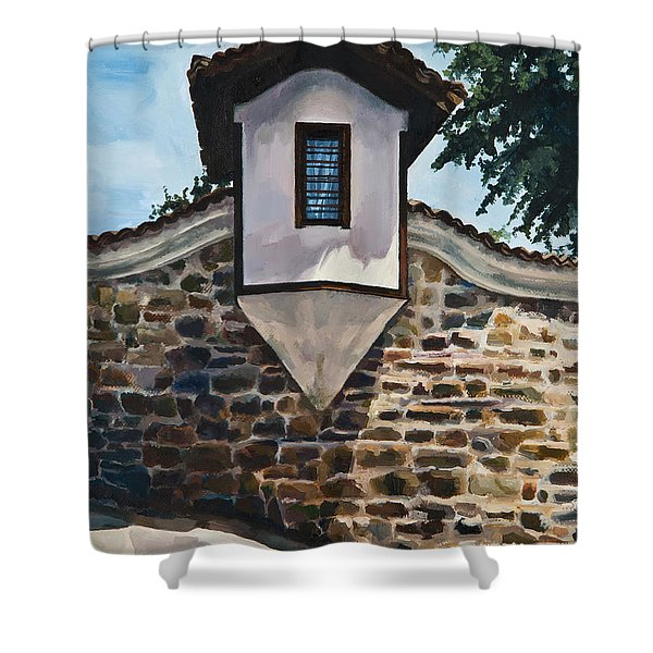 The Small Window Shower Curtain