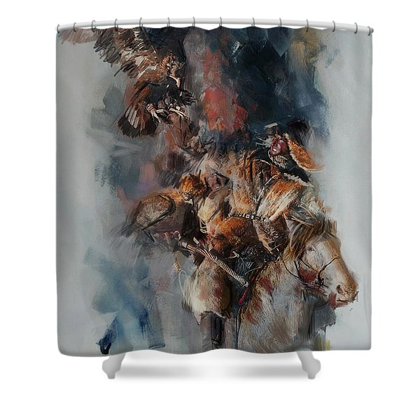 012 Kazakhstan Culture Shower Curtain