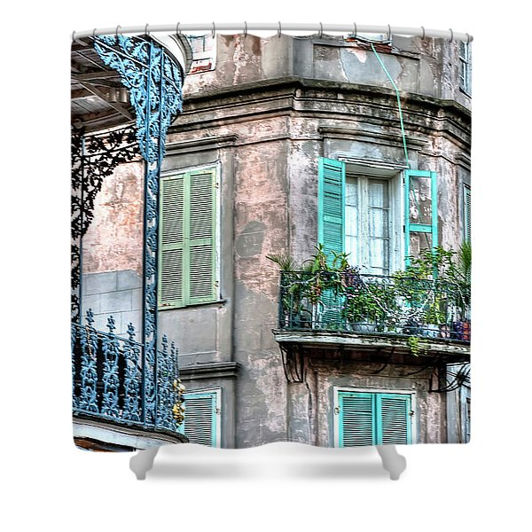 0254 French Quarter 10 - New Orleans Shower Curtain