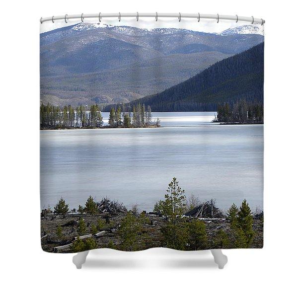 Granby Lake Rmnp Shower Curtain