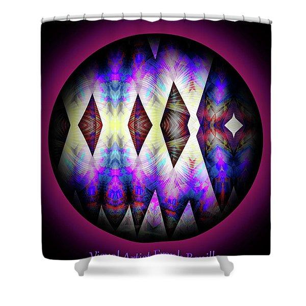 Shower Curtain featuring the digital art 080620172 by Visual Artist Frank Bonilla