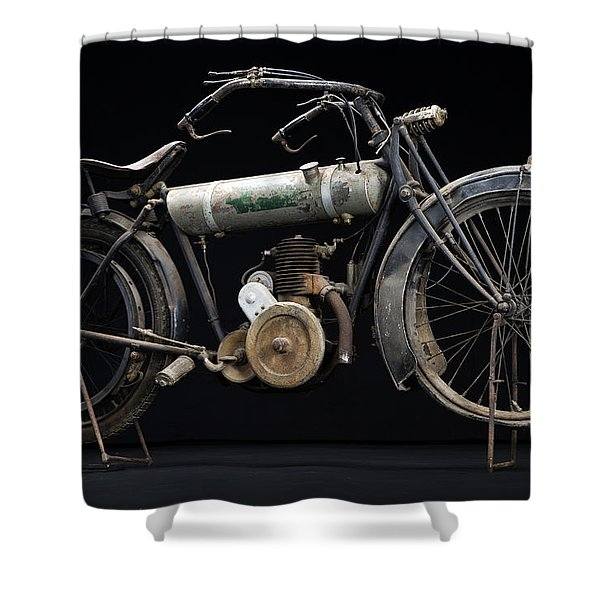 1917 Triumph Model H Shower Curtain