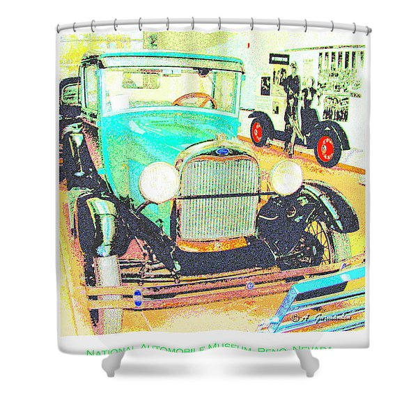 1928 Ford Automobile Shower Curtain