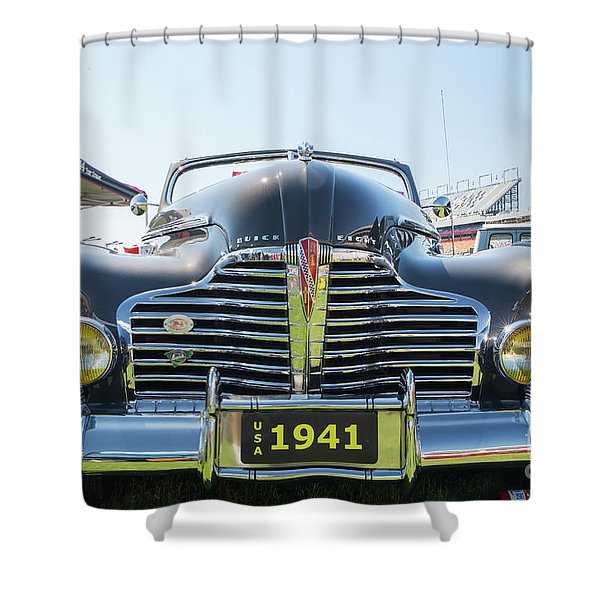1941 Buick Convertible Shower Curtain