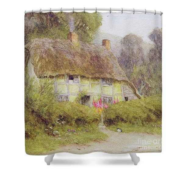 A Country Cottage Shower Curtain