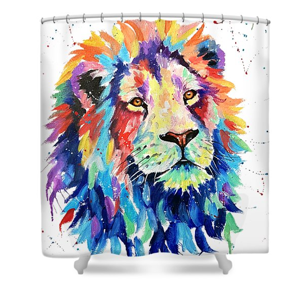 A World Of Color Shower Curtain