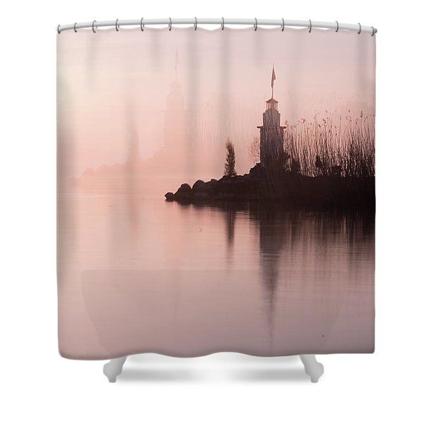 Absolute Beauty - 2 Shower Curtain