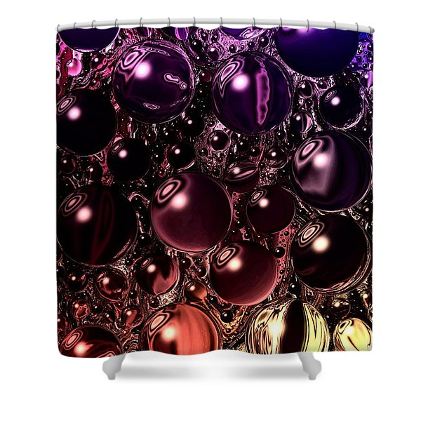 Gamete Cell Shower Curtain