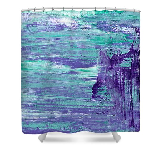 Act Like Royalty Shower Curtain