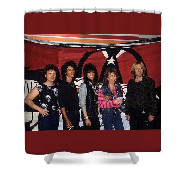 Aerosmith Shower Curtain