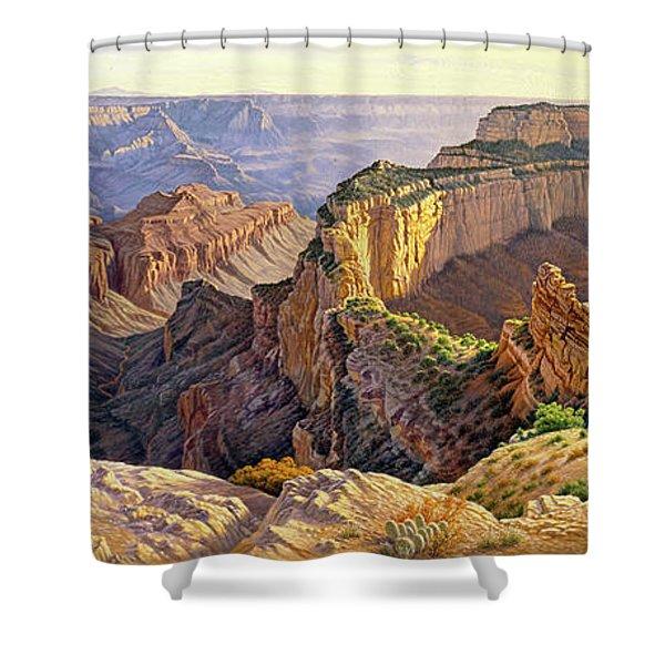 Afternoon-north Rim Shower Curtain