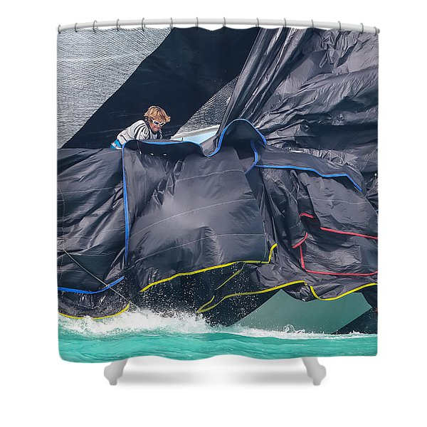 Allusion Shower Curtain
