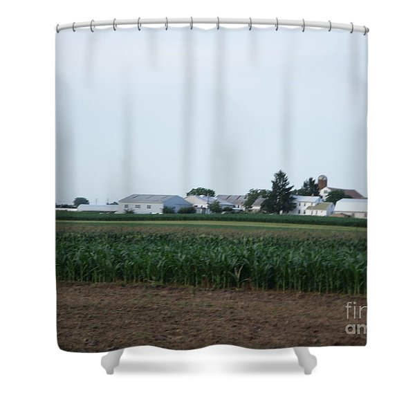 Amish Homestead 9 Shower Curtain