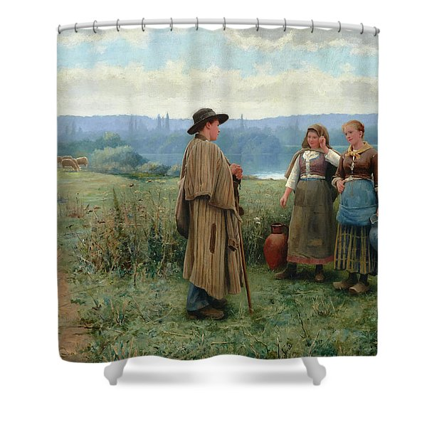 An Idle Moment Shower Curtain