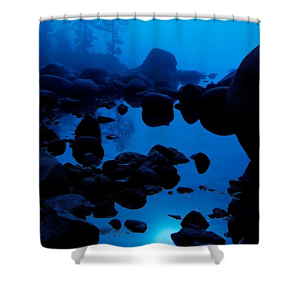 Arise From The Fog Shower Curtain
