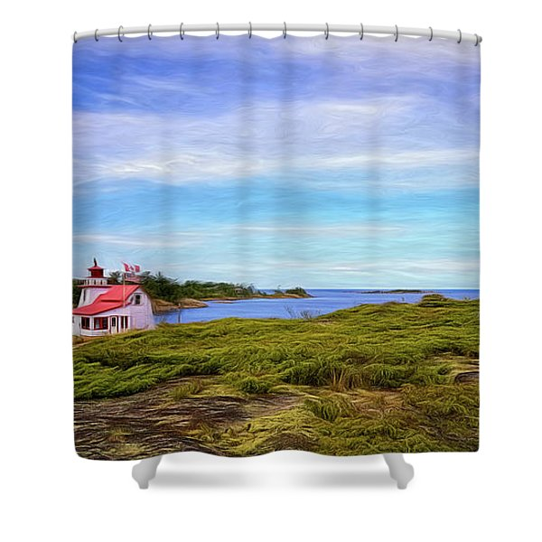 Iconic Bay View Shower Curtain