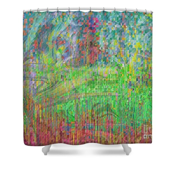 As The Wind Blows Shower Curtain