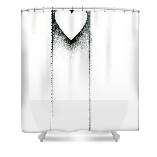 Ascending Heart Shower Curtain