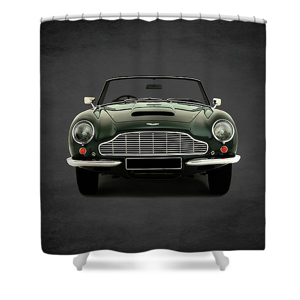 Aston Martin Db6 Shower Curtain