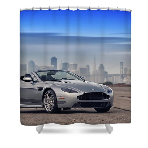 #astonmartin #print Shower Curtain
