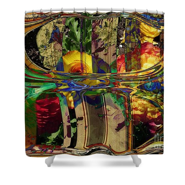 At The Garden Gate Shower Curtain