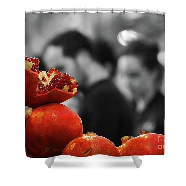 At The Market Shower Curtain