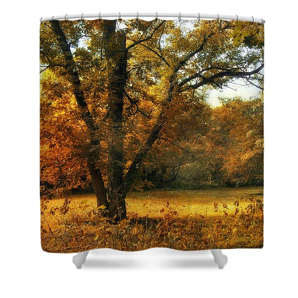 Autumn Arises Shower Curtain