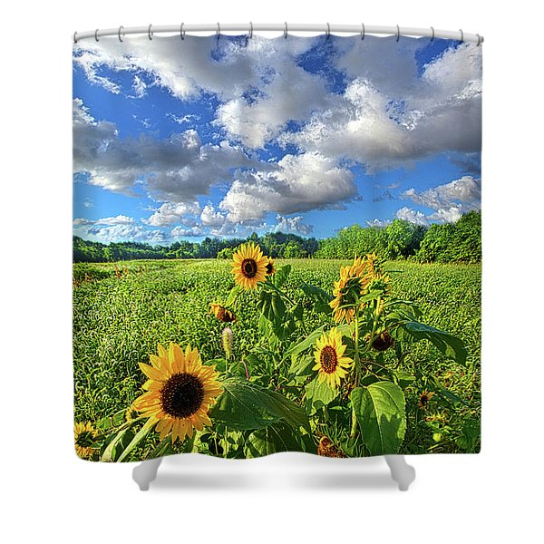 Autumn Is Near Shower Curtain