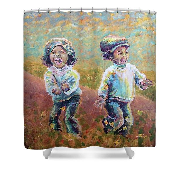 Autumn Joy Shower Curtain