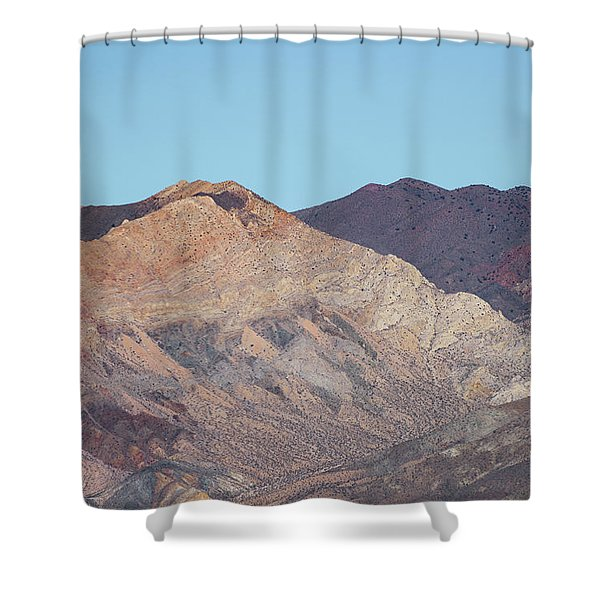 Shower Curtain featuring the photograph Avawatz Mountain by Jim Thompson