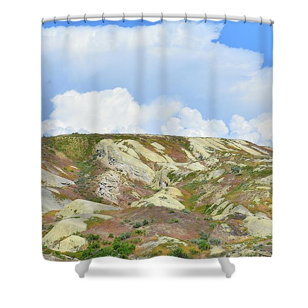 Badlands In Wyoming Shower Curtain