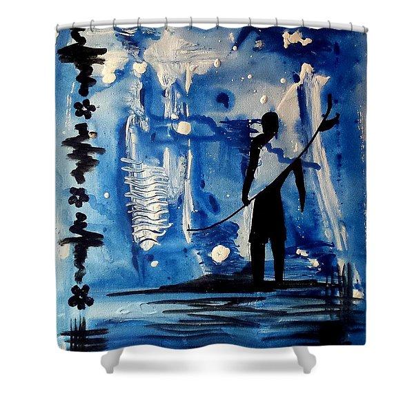 Badsurfer  Shower Curtain