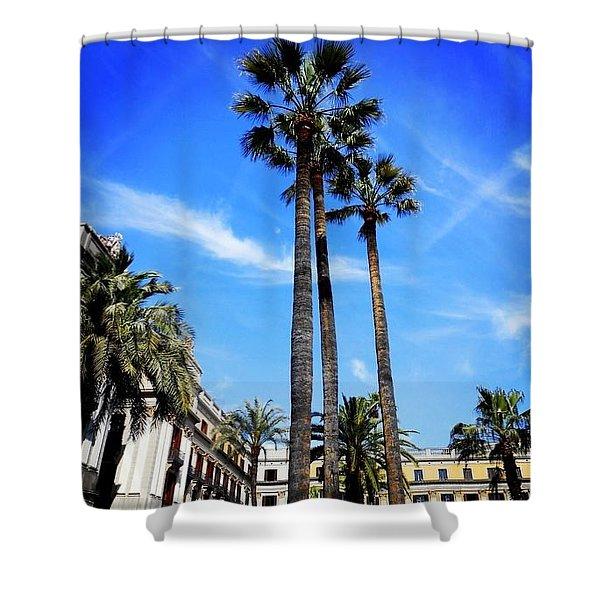 Barcelona Shower Curtain