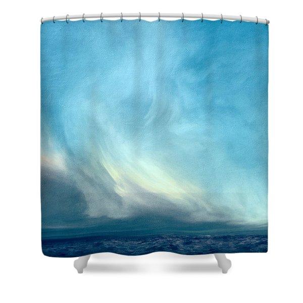 Barren Lands Shower Curtain