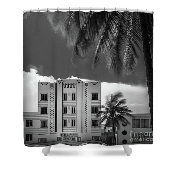 Beacon Hotel Miami Shower Curtain