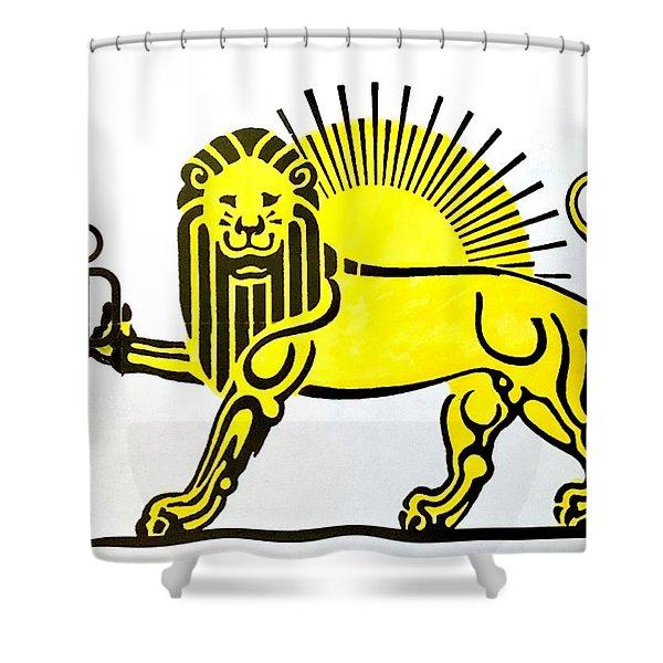 Beersia Shower Curtain