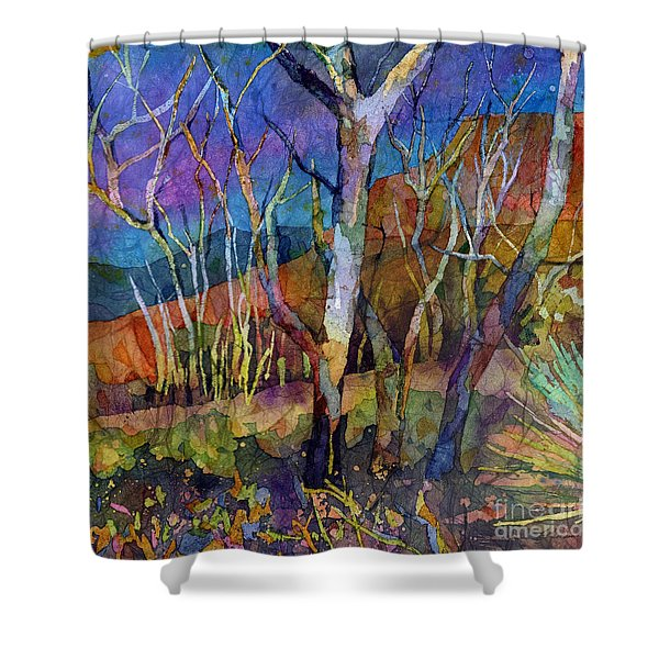 Beyond The Woods Shower Curtain