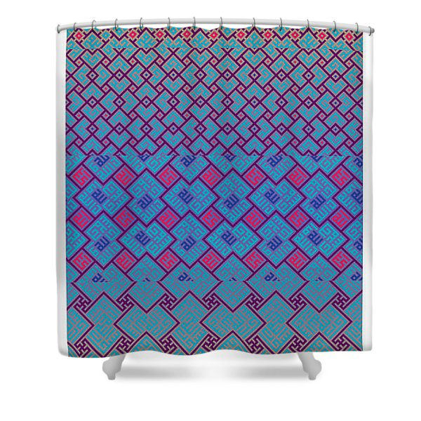 Bibi Khanum Ds Patterns No.3 Shower Curtain